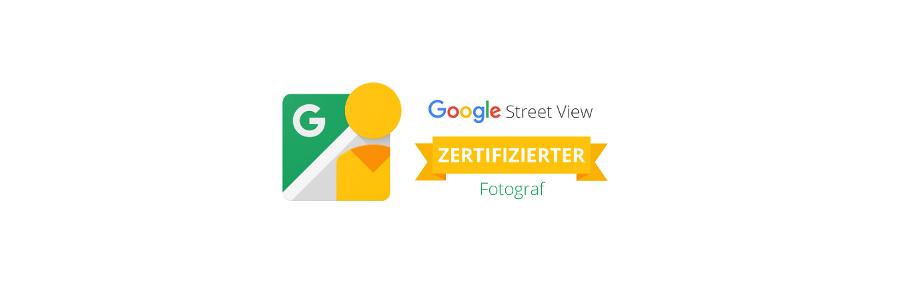 Google Street View trusted zertifizierter Fotograf
